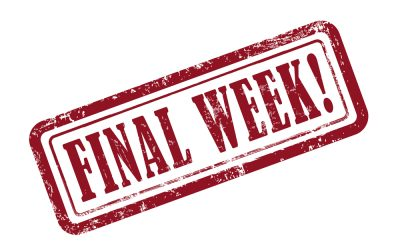 Fall Session Final Week
